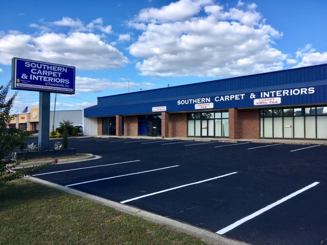Southern Carpet & Interiors of Fayetteville, Inc. is a locally owned, full-service flooring company offering Carpet, Hardwood, Laminate, Vinyl, Ceramic Tile and Commercial Flooring.