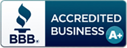 We have been A+ rated by the Better Business Bureau