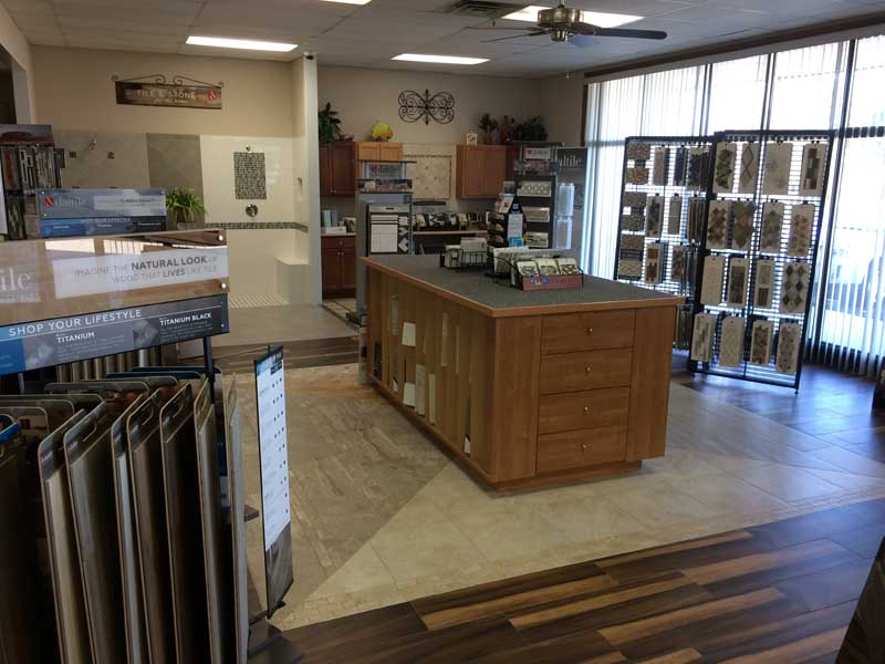 Here is a picture of our Showroom.